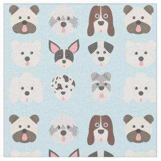 Cute Dog Fabric