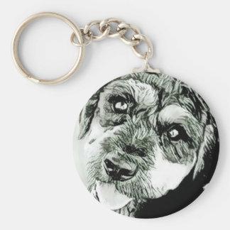 Cute Dog Face Keychain