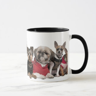Cute Dog Friends Coffee Mug