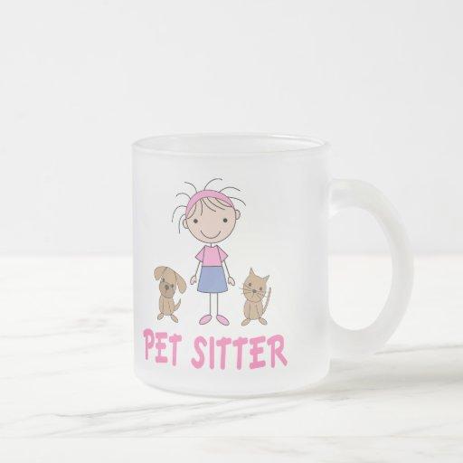 Cute Dog Occupation Pet Sitter Coffee Mugs