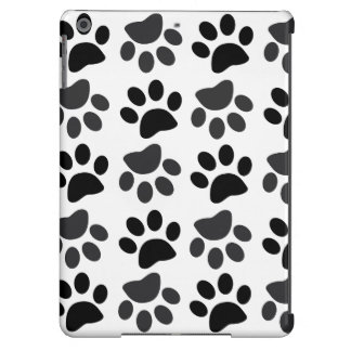 Cute Dog Paw Prints iPad Air, Barely There iPad Air Cases