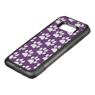 Cute Dog Paw Theme OtterBox Commuter Samsung Galaxy S8+ Case
