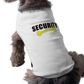 Cute Dog Security Shirt Sleeveless Dog Shirt