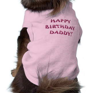 CUTE DOG SLEEVELESS DOG SHIRT