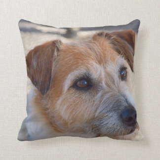 Cute dog throw cushion