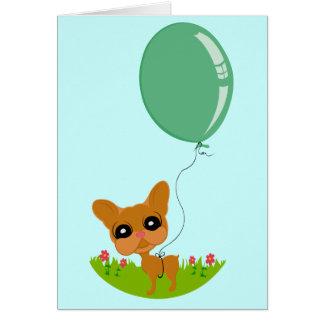 Cute Doggie Birthday Card! Card