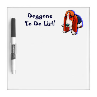 Cute Doggone To Do List Dry Erase Board