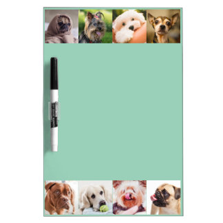 Cute Dogs OR YOUR PHOTOS custom message board Dry Erase White Board