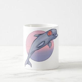 Cute Dolphin Basic White Mug