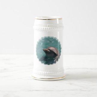 Cute Dolphin Beer Stein Coffee Mugs