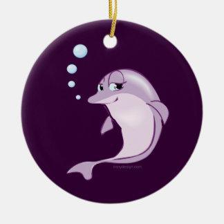 Cute Dolphin Ornament