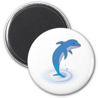 Cute dolphin fridge magnets