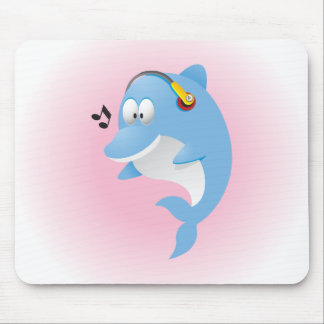 Cute Dolphin Mousepad