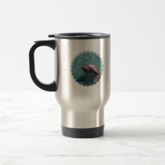 Cute Dolphin Travel Mug