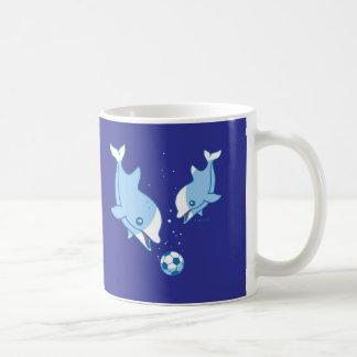 Cute Dolphins Coffee Mugs