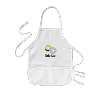Cute Donut Bake Sale Design Kids Apron