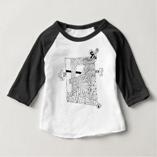Cute Doodle Creature Baby T-Shirt