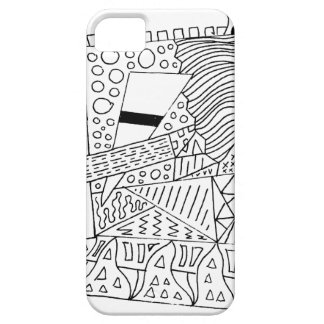 Cute Doodle Creature Case For The iPhone 5