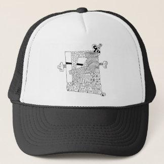 Cute Doodle Creature Trucker Hat