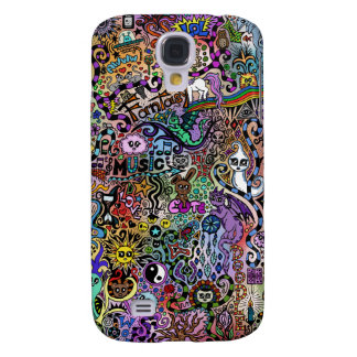 cute Doodle Samsung Galaxy S4 Cases