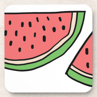 CUTE DOODLE WATERMELON COASTER