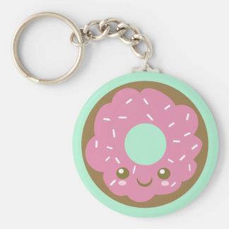 Cute Doughnut Keychain