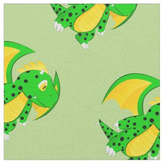 Cute Dragon Kids Pattern Fabric