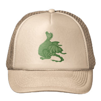 cute dragon mythical and fantasy creature art trucker hat