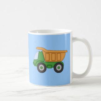 Cute Dump Truck Design Tshirt Basic White Mug