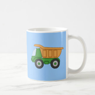 Cute Dump Truck Design Tshirt Classic White Coffee Mug