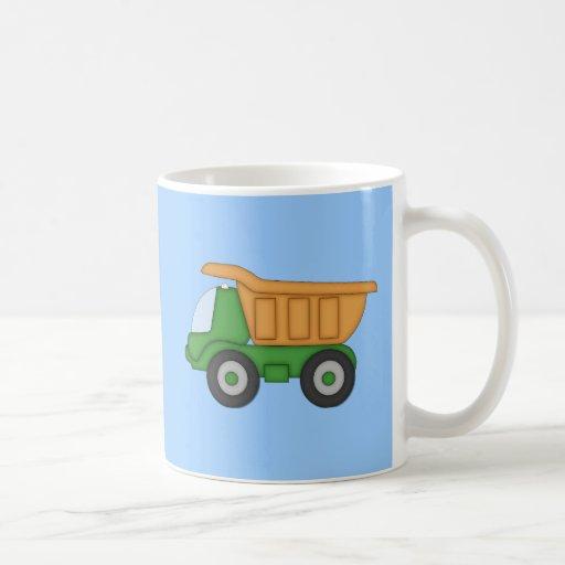 Cute Dump Truck Design Tshirt Mug