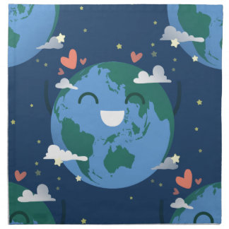 cute Earth Day Napkin