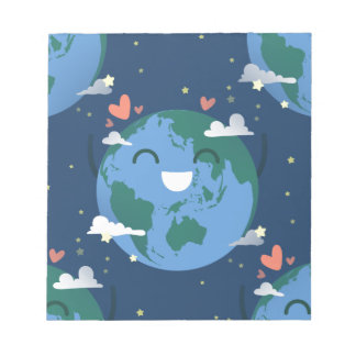 cute Earth Day Notepad