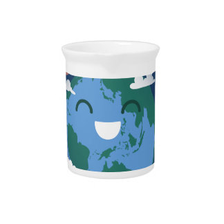 cute Earth Day Pitcher