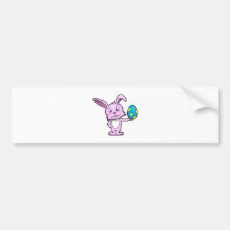 Cute Easter Bunny Bumper Sticker