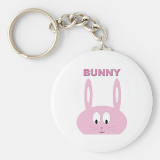Cute Easter Bunny Character Key Chain