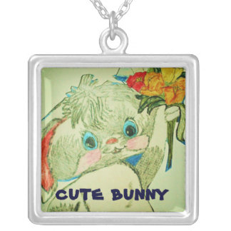 CUTE EASTER BUNNY necklace