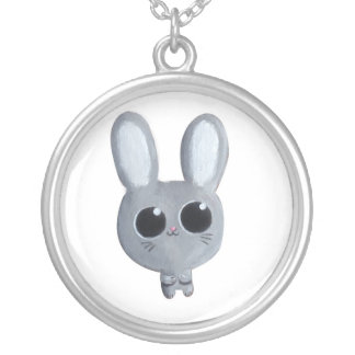 Cute Easter Bunny Personalized Necklace