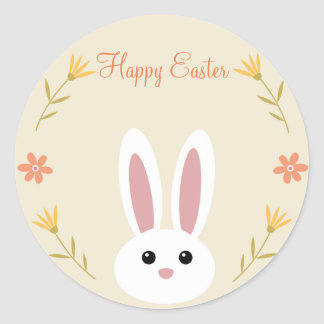 Cute Easter Bunny Stickers