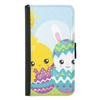 Cute easter duo samsung galaxy s5 wallet case