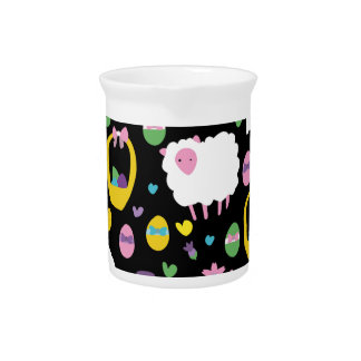 Cute Easter pattern Pitcher