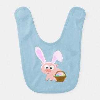Cute Easter Pig Bib
