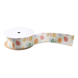 Cute Easter Ribbon Satin Ribbon