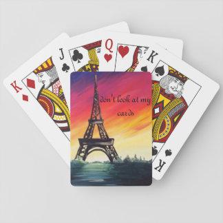 cute eifel tower cards