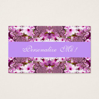 Cute Elegant Bride Cherry Blossoms Save the Date Business Card