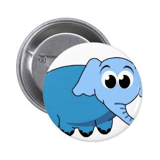 Cute Elephant Button