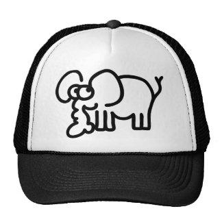 Cute Elephant Cap
