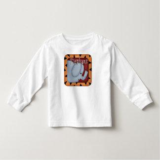 Cute Elephant Childrens Block Toddler T-Shirt