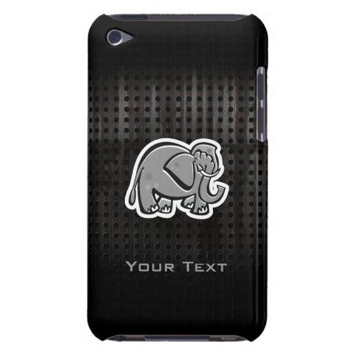 Cute Elephant; Cool Barely There iPod Case