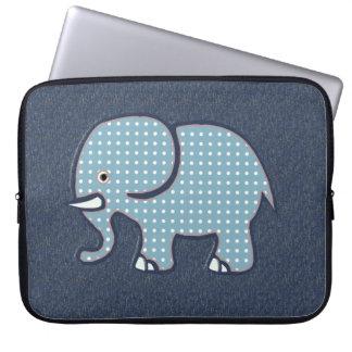 cute elephant design laptop sleeve